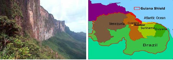 Donderdag 19 september 2019 ledenavond: Guayana landen, Het Guayana Schild door Georges de Roeck